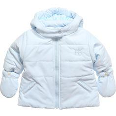 EMILE ET ROSE Baby Boys Blue 'Doran' Jacket