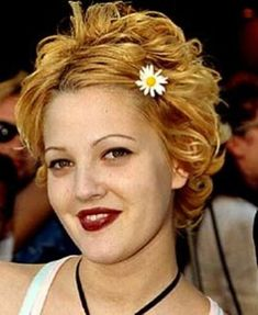 Lovable Drew Barrymore Hairstyle