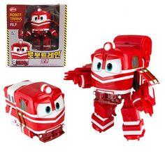 AIf - Robot Trains Transforming Train Robot Toy Korea TV Animation Character #GINAWORLD