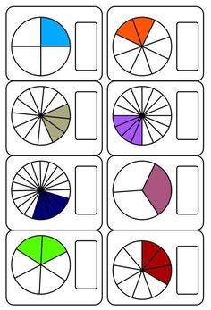 ❺ Наша начальная школа ❺ Math Fractions Worksheets, Math Practice Worksheets, Kindergarten Math, Teaching Math, Math Exercises, Montessori Math, Math School, Fourth Grade Math, Gymnasium