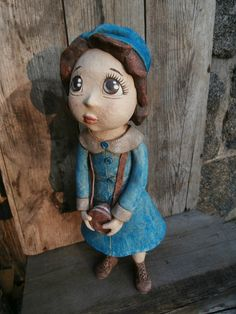 Jdu na jarní procházku... Clay People, Painted Rocks, Origami, Teddy Bear, Pottery, Ceramics, Toys, Animals, Templates