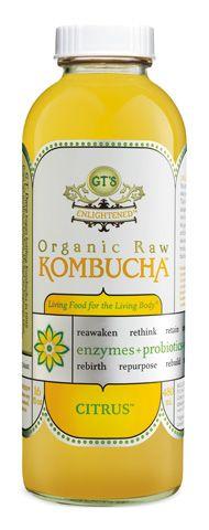 GT's Raw Organic Kombucha is my favorite!