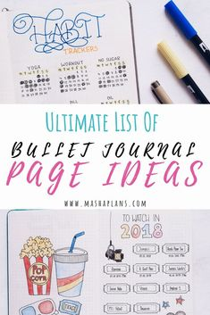 Bullet Journal can virtually help you with anything. Check out this list of Bullet Journal page ideas for you to get the maximum out of your planner! Bullet Journal Notebook, Bullet Journal How To Start A, Bullet Journal Ideas Pages, Bullet Journal Spread, Bullet Journal Layout, Journal Prompts, Bullet Journal Inspiration, Journal Pages, Bullet Journals