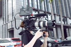 SmallRig Professional Accessory Kit is exclusively designed for Sony FS5. #Sony FS5 accessories #FS5 rigs #FS5 shoulder rig #FS5 accessories kit