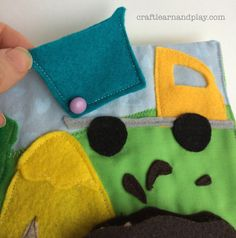 Farm Quiet Book | Craft Learn & Play - Kids activities, crafts, creative projects and parenting tips
