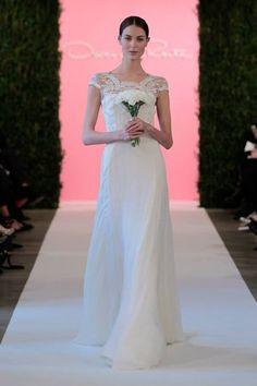 2015 Oscar de la Renta (Printemps) Robe de mariée sur www.espacemariage.com