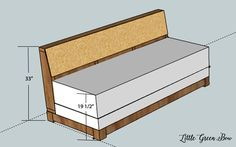 Build Your Own Sofa Bed: DIY Couch Plans. For the office?