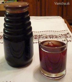 Sirup z čiernych ríbezlí