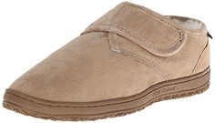 Men's Slippers - Old Friend Mens Adjustable Strap Slipper -- Check out this great product. (This is an Amazon affiliate link)