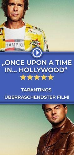 """Quentin Tarantino enttäuscht mit """"Once Upon A Time In... Hollywood"""" eine ganze Reihe von Erwartungen und liefert gerade deswegen ein neues Meisterwerk ab. Vor allem auch dank des jetzt schon ikonischen Duos Brad Pitt und Leonardo DiCaprio! Die ganze Kritik gibt's auf filmstarts.de! Mark Strong, Mahershala Ali, Christoph Waltz, Zachary Levi, Sharon Tate, Jennifer Connelly, Christopher Nolan, Captain Marvel"""