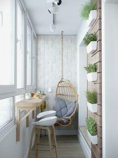10 крутых идей дизайна маленького балкона | Дневник архитектора | Яндекс Дзен