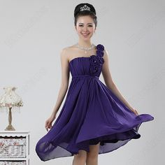 Discount China china wholesale Sweet Korean Ladies Strapless Floral Bridesmaid Gown Birthday Party Short Dress [30787] - US$43.11 : DealsChic