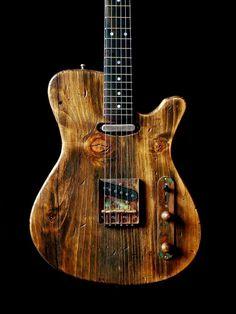 Girault guitars relic guitar