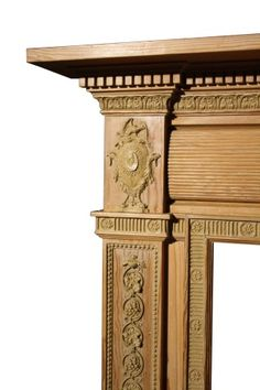 LATE GEORGIAN PINE AND COMPOSITION FIRE SURROUND - UK Architectural Heritage