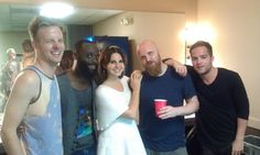 Lana Del Rey and her band #LDR #Endless_Summer_Tour