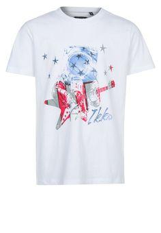 IKKS - T-shirt print - Wit