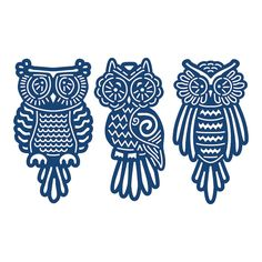 Tattered Lace Baby Owls dies