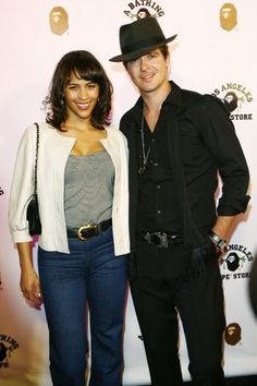 Robin Thicke and wife Paula Patton Blind Love, Paula Patton, Robin Thicke, Famous Couples, Interracial Couples, Married Woman, Best Couple, Celebs, Celebrities