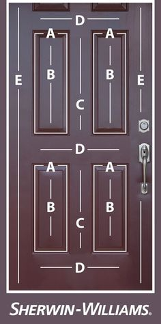 Easy guide to painting doors