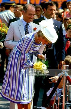 Charles And Diana, Prince Charles, Princess Margaret, Princess Diana, Visit Canada, White Suits, Photo Pin, Lady Diana Spencer, Prince Of Wales