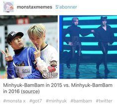 Minhyuk & Bambam