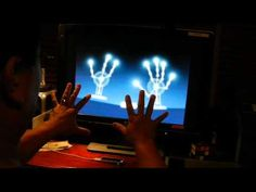 """Leap Motion Controller - orientation demo, had to share the experience from movement to music.  Just got my """"leap."""" Not many apps out for it yet, but touch free computing (TFC) will be something to watch."""