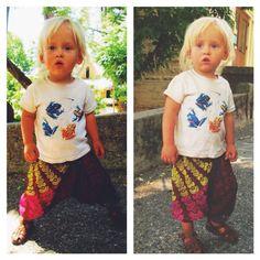 2T, 3T and 4T harem pants, Toddler pant, boho children's leggings, tribal hippie children's clothing, bohemian kids, rainbow gypsy pant