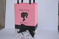 Barbie party favor bags Larger size available by SandysCandyBags