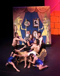 Nov 2011 – Globe Productions, Joseph and The Amazing Technicolour Dreamcoat, Milton Centre for the Performing Arts. Doug Feggans, set designer.