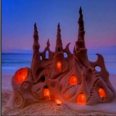 Very cool sand castle!!