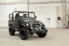 Blacked-Out Custom 1985 Toyota Land Cruiser is a Reckoning Force