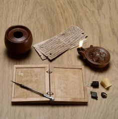 Writing kit.