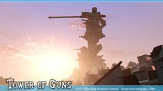 Something for the Weekend: Tower of guns  More: http://twit.mx/pgfa8oH