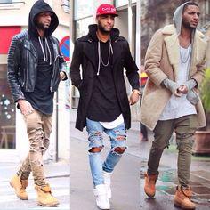 Hip hop fashion, dope fashion, urban fashion, trendy fashion, new men New Mens Fashion Trends, Dope Fashion, Trendy Fashion, Fashion Ideas, Urban Fashion Men, Fashion Black, Fashion Advice, Street Fashion, Fashion Women