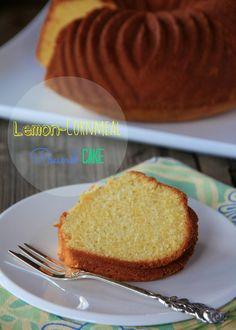 Lemon-Cornmeal Pound Cake by Kirsten   My Kitchen in the Rockies #cookinglight #dessert #cake #lemon