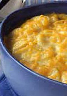 "Classic Potatoes Au Gratin – Here's one of the great classic ""cheesy potatoes"" dish of all time— Potatoes au Gratin—in all its oniony, cheddar-y glory!"