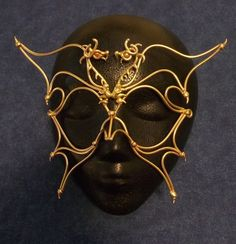 Bronze Dragon Mask by BronzeSmith on Etsy, $49.00