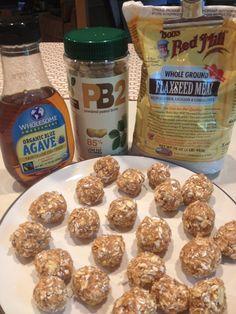 @Christina Childress Childress Calderon, no-bake PB2 bites! The Running Baker: PB2 Protein Bites