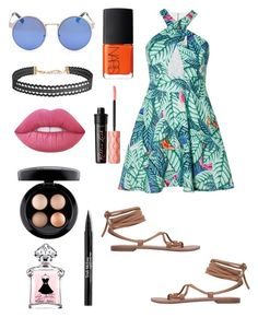 Untitled #162 by jenniferhdz on Polyvore featuring polyvore, fashion, style, Mara Hoffman, MANGO, Humble Chic, MAC Cosmetics, Lime Crime, Benefit, Trish McEvoy, NARS Cosmetics and clothing