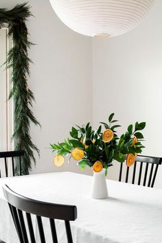 DIY Dried Orange Slice Ornaments - Homey Oh My