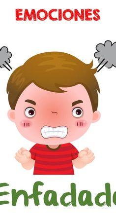 Expresar las emocionesresulta fundamental en la vida de los seres humanos. Sin embargo, tendemos a crecer y a vivir reprimiéndolas y no sacando hacia afuera aquello que deseamos, aquello que … Emotions Preschool, Emotions Cards, Emotion Faces, Cartoon Books, Dental Humor, Sensory Activities, Kids And Parenting, Teaching Kids, Kindergarten