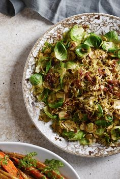 Shaved Brussels Sprouts with Caramelized Shallots and Currants | Williams-Sonoma