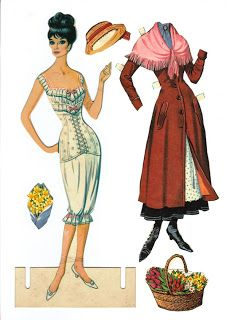 ☆Sharon's Sunlit Memories☆: My Fair Lady Paper Doll