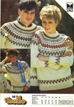 2362 Vintage Sweaters, Crochet Hats, Retro, Collection, Ideas, Fashion, Tejidos, Threading, Moda