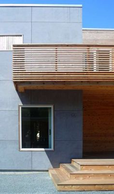 Peconic Bay House, USA. Resolution: 4 Architecture. EQUITONE facade materials combined with wood. equitone.com