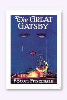 Bookish Designs The Great Gatsby Poster - English Lit student duhhhh