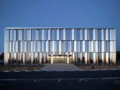 Head office of Fiteco – Sunset reflection - picture ©Cécile Septet - Visit our…