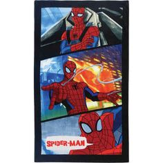 CTI Strand- / Badetuch Spider-Man Power, 70 x 120 cm