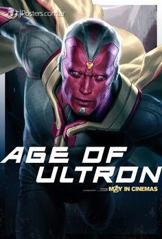 Image - Avengers Age Of Ultron Unpublished Character Poster i JPosters. Marvel Avengers, Avengers Film, Marvel Fan Art, Marvel Dc Comics, Marvel Heroes, Age Of Ultron, Ultron Marvel, Joss Whedon, Vision Marvel