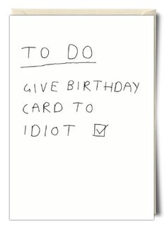 To do... - Card by Redback Cards